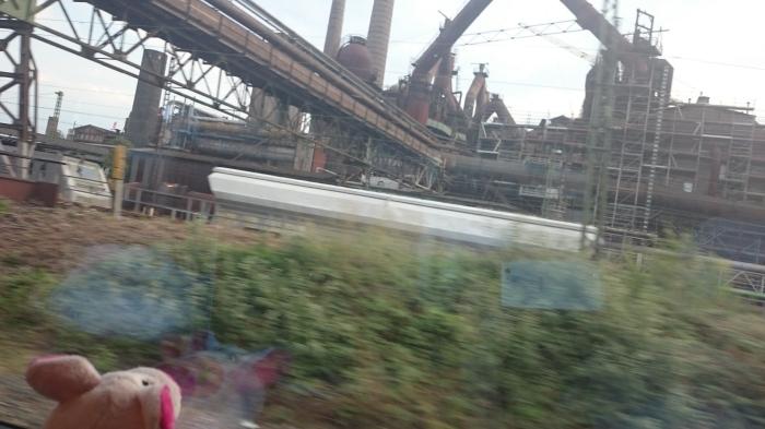 Zunächst gab es ein wenig Industrieromantik, dann ...