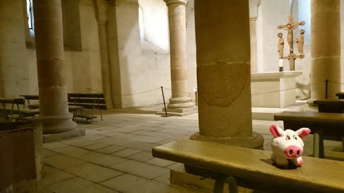 Die Geschichte begann an einem heiligen Ort, wo ein Vierter ruht, der kein Freund des Papstes war.