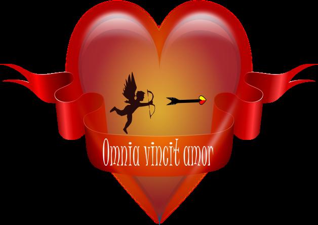 Amor Herz Valentinstag